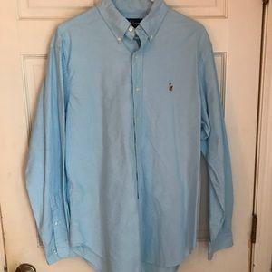 Polo Ralph Lauren Lt. Turquoise Button Up Shirt